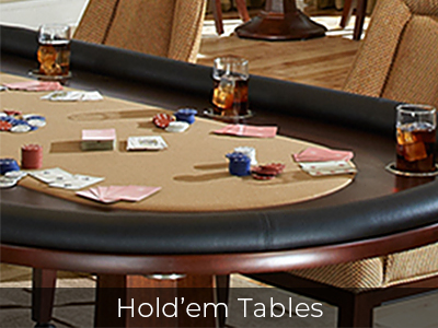 Hold'em Tables by Jack Game Room