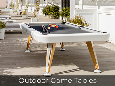 Outdoor Game Tables by Jack Game Room