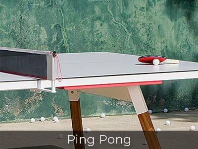 Ping Pong Tables by Jack Game Room
