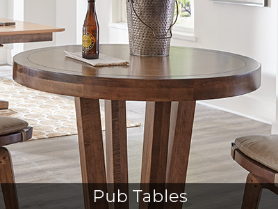 Bar-Height & Counter-Height Pub Tables by Jack Game Room