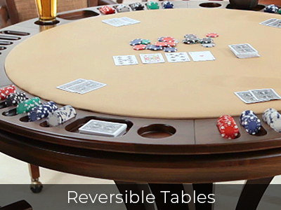 Reversible Tables by Jack Game Room
