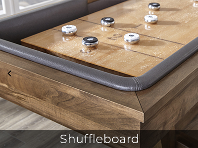 Shuffleboard Tables by Jack Game Room